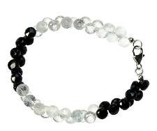 SPINELL / BERGKRISTALL Armband Silber / SPINELL Bracelet D849