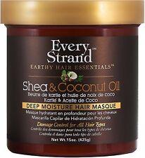 Every Strand Shea - Coconut Oil Deep Moisture Hair Masque 15 oz (Pack of 8)