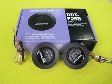 ALPINE DDT-F25B  Balanced Dome Car Tweeters 60W Audio High Efficiency Speaker