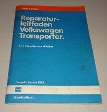 Werkstatthandbuch / Reparaturleitfaden VW T3 1,9 l Einspritz-Motor Digijet 1988