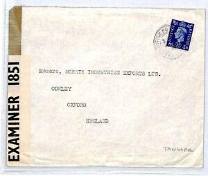 British Post Office Tangier Cover {samwells-covers}1941 CS186
