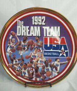 "Sports Impressions 1992 Dream Team MJ Jordan 8.5"" numbered plate. Olympic"