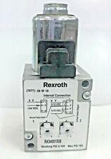 R434001508 REXROTH E/P Pressure Regulator ED05-ND5 0-10V DC 0-100 psi 160 psi Mx