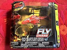 Air Hogs Red Flying Crane RC Remote Controlled Indoor Helicopter Lightly Used!