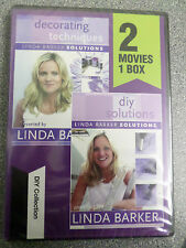LINDA BARKER - DIY SOLUTIONS & DECORATING TECHNIQUES - DVD - (NEW & SEALED)