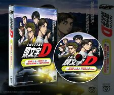 Japanese Sports Anime Initial D Dvd Complete Box Set