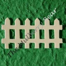 50 Fence fences picket Diecut Paper gardening spring scrapbooks crafts Cards