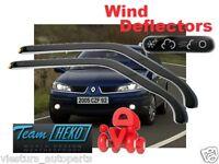 Wind deflectors Renault Laguna 4D 03/2001 - 2007   2.pc HEKO 27140 FRONT DOORS