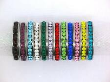 Stackable Stainless Steel Eternity Birthstone Ring/Band Choose Your Color & Size