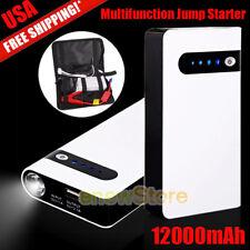 12000mAh Car Jump Starter Engine Battery Charger Power Bank Booster Jumper Box
