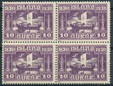Iceland Scott 155 in Block of 4 MNH.