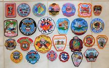 Lot of 26 FDNY New York NY Fire Dept., Ladder, Rescue etc. QUEENS patches - NEW!