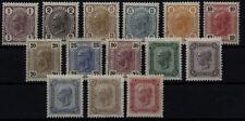 Briefmarken Satz österreichische (bis 1945) mit Falz
