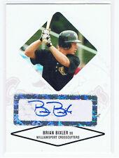 Brian Bixler Baseball Rookie Autograph New York Mets 2004 Just Minors Shortstop