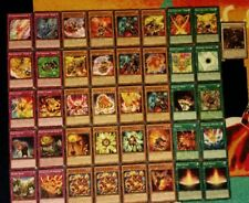 Yu-Gi-Oh Hazy Flame and Fire Fist Deck - 40 cards complete BONUS 5 cards