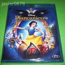 BLANCANIEVES Y LOS 7 ENANITOS CLASICO DISNEY NUMERO 1 BLU-RAY NUEVO Y PRECINTADO