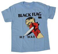 Black Flag My War Shirt Fully Licensed Punk Rock
