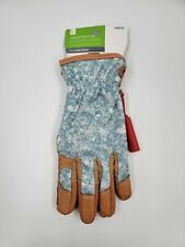 Style Selections Women's Large Leather Cushioned Palm Garden Gloves495722