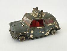 Vintage Meccano Ltd. Dinky Toys #250 H MINI Cooper Police Car Collectible