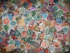 Deutsches Reich Lot Dienstmarken aus Nachlass 100 stück.