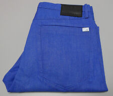 NEW Calvin Klein Jeans W-33 L34 Johnny Blue Slouchy Fit Pants J301558 $260