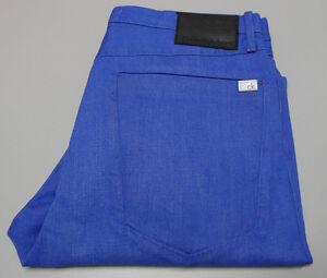 NEW Calvin Klein Jeans W-33 L34 Johnny Blue Slouchy Fit Pants J301558 $260