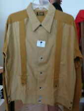 New listing Nos 50's-60's Dodds Mens Wear Shirt Jac Long Sleeve 100% Cotton Rockabilly Large