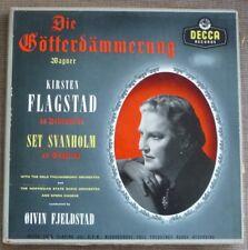 DIE GOTTERDAMMERUNG Wagner 6 X LP Box Set + LIBRETTO DECCA LXT 5205 - 5210 Grigio