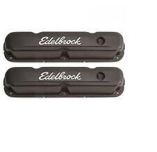 Edelbrock 4473 Signature Series Valve Covers 32 Tall For 318 360 Chrysler V8