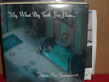 Amos the Transparent - My What Big Teeth You Have CD Rare ROCK with PROMO Flyer