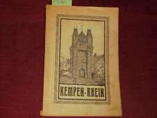 Klinkenberg Führer durch Kempen-Rhein