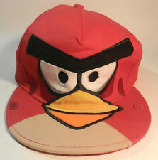Angry Birds Red Bird Snapback Trucker Hat Baseball Cap Adjustable NEW w.o tags