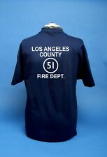 EMERGENCY 51 1970's Hit TV Series.  L.A. County Fire Department 51's Shirt