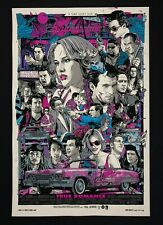 "Tyler Stout Mondo '18 ""True Romance"" Movie Poster Print - Limited Edition of 300"