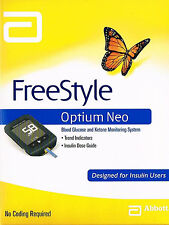 =>ABBOTT FREESTYLE OPTIUM NEO BLOOD GLUCOSE AND KETONE MONITOR