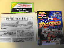 2004 Fulton Speedway Victoria 200 Program with extras, upstate NY racing lot