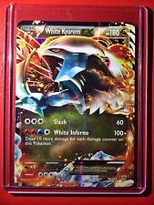 Pokemon card - White Kyurem EX Holo B&W Plasma Storm Edition Ed 96/135 =1st M