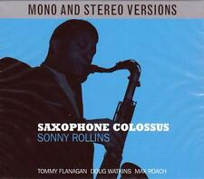 SONNY ROLLINS - SAXOPHONE COLOSSUS - MONO & STEREO VERSIONS (NEW SEALED 2CD)