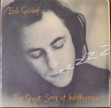 "Bob Geldof ‎– The Great Song Of Indifference 7"" – BOB 104 – VG+"