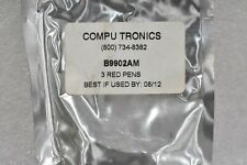 Compu Tronics B9902Am Red Plotter Pens For Yokogawa Recorders ( 3 Pack )