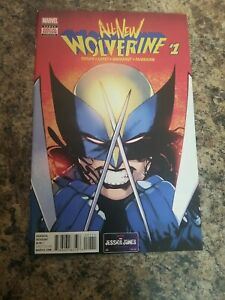 all new wolverine 1..first X-23 as Wolverine..VF..9.0