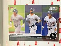 2020 TOPPS NOW ALDS CARD NEW YORK YANKEES #366 FRAZIER JUDGE STANTON 11 HRs