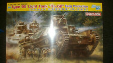 DRAGON TYPE 95 LIGHT TANKL HA-GO EARLY PRODUCTION