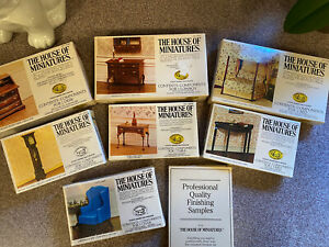 The House of Miniatures Lot Of 7 Kits