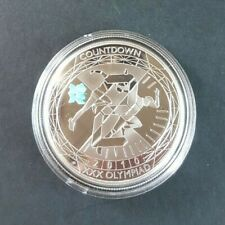 2010 Countdown to London 2012 Olympic £5 Silver proof Coin 2 years to go Runners