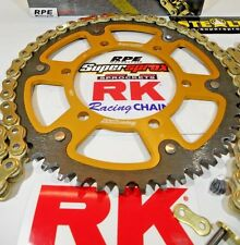 1997-1998 Honda CBR600 F3 RK GXW Gold 525 SuperSprox Chain and Sprocket Kit