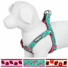 BLUEBERRY  PET FLAMINGO HARNESS SMALL NWT EMERALD GREEN PINK ADJUSTABLE