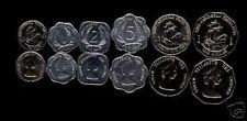 EAST CARIBBEAN 1 2 5 10 25 1 DOLLAR 1994-2006 SHIP QUEEN UNC MONEY 6 PC COIN SET