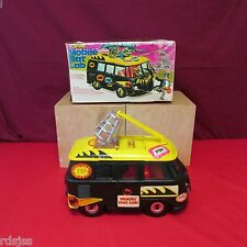 MEGO BATMAN MOBILE BAT LAB WITH STICKERS AND BOX VEHICLE