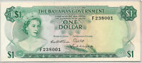 1965 BAHAMAS $1 DOLLAR ~ NICE UNC UNCIRCULATED ~ PRICED RIGHT! INV# 001